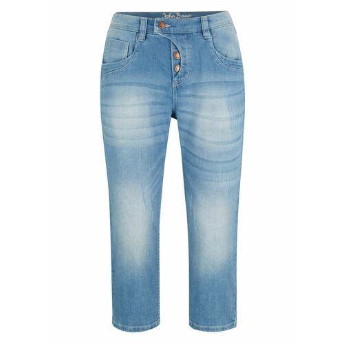 Bonprix Spodnie sztruksowe jasnoróżowy