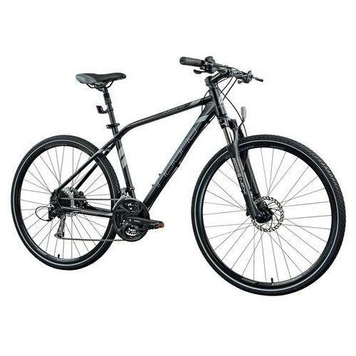 Rower INDIANA X-Cross 4.0 M19 Czarny + 5 lat gwarancji na ramę + Zamów z DOSTAWĄ JUTRO!