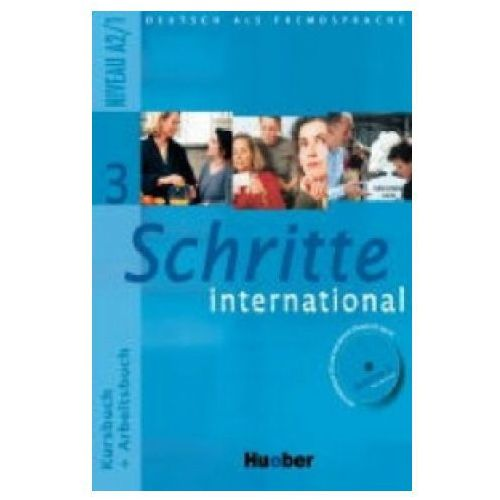 Schritte International 3. Podręcznik z Ćwiczeniami + CD do Ćwiczeń (9783190018536)
