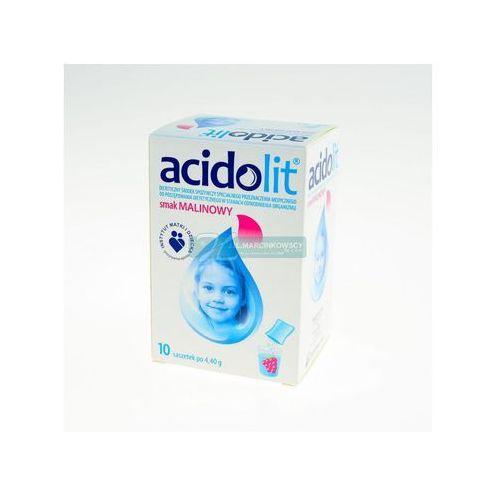 Acidolit sm.malinowy pr.do p.rozt.doust. - 10 sasz.a 4,4g