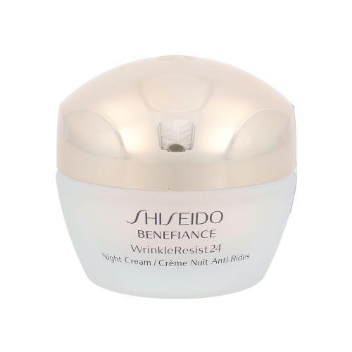 Shiseido benefiance wrinkle resist 24 krem na noc 50 ml dla kobiet