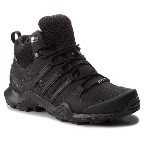 Buty adidas - Terrex Swift R2 Mid Gtx GORE-TEX CM7500 Cblack/Cblack/Cblack, kolor czarny