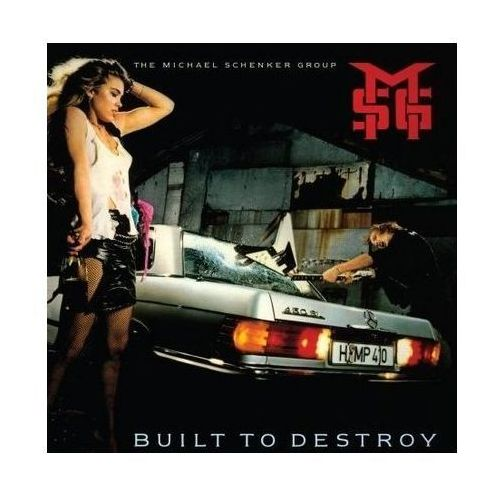 Parlophone music poland Michael the group schenker - built to destroy