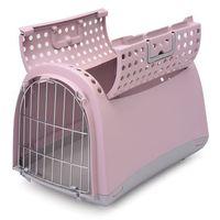 Argi Transporter dla kotów i psów Cabrio, różowy
