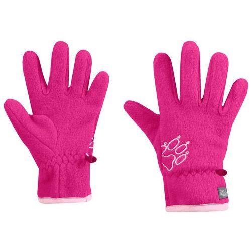 Jack wolfskin Rękawice dla dzieci baksmalla fleece glove kids pink fuchsia - 116