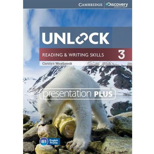 Unlock 3 reading and writing skills presentation plus dvd (płyta dvd) marki Cambridge university press