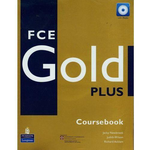 FCE GOLD PLUS Coursebook (podręcznik) plus iTest CD-ROM (224 str.)