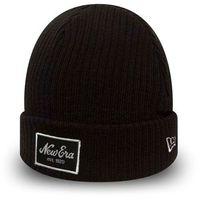 czapka zimowa NEW ERA - Winter utility short/long cuff NE (BLKWHI)