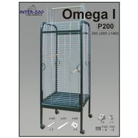 Inter-zoo  woliera dla ptaków omega i