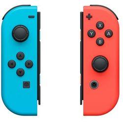 Kontrolery NINTENDO Switch Czerwony i Niebieski