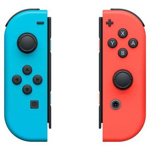 Kontroler switch joy-con czerwono-niebieski marki Nintendo