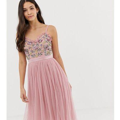 b17465c348e53 suknie sukienki maya maternity bead embellished bodice midi dress ...