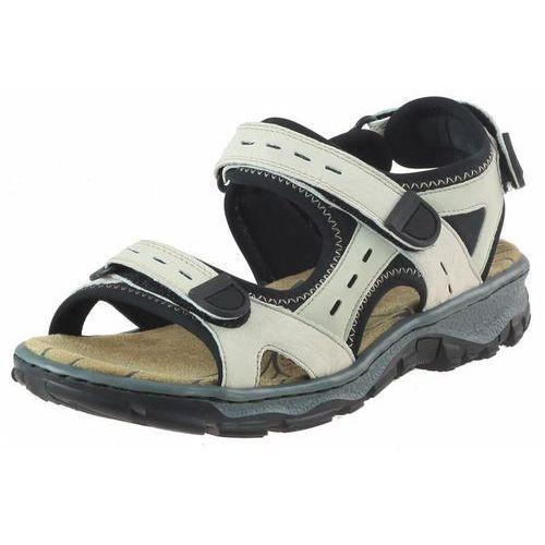 Rieker Sandały 68872 - beżowe