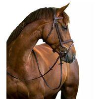 Kerbl Ogłowie wędzidłowe Classic, skóra, brązowe, rozmiar Cob, 324912 (4018653068236)