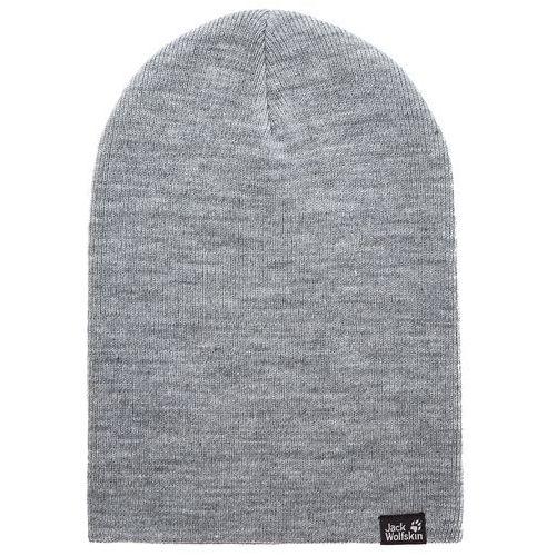 Jack wolfskin Czapka - rib hat 1903891 grey heather