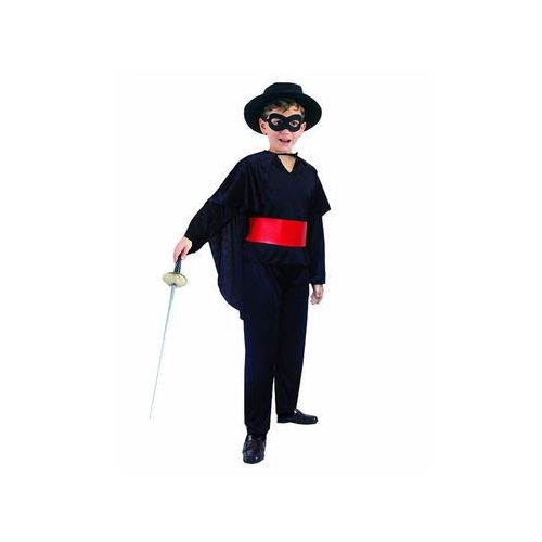 Kostium dziecięcy Wojownik Zorro - S - 110/120 cm, STMSZ-LU110
