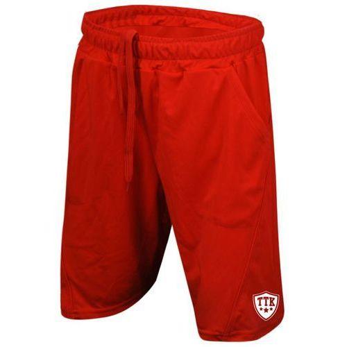 Ttk t-shorts iridium red - spodenki tenisowe r. xxl