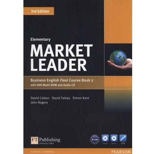 Market Leader Elementary Flexi Course Book 2 +CD +DVD - Cotton David, Falvey David, Kent Simon, Rogers John, Pearson