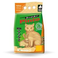 CERTECH Żwirek Super Pinio Cytrus - żwirek dla kota drewniany 10l