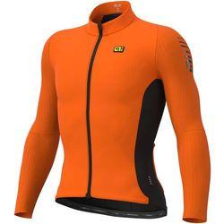Alé cycling clima protection 2.0 warm race ls jersey men, fluo orange l 2019 koszulki kolarskie
