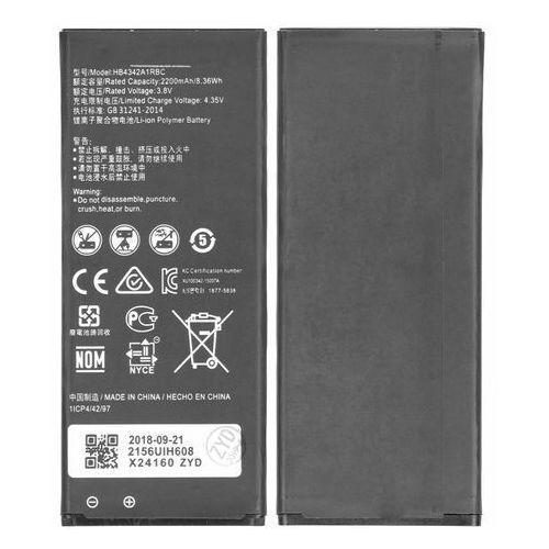 Bateria huawei y6 y5 ii honor 4a hb4342a1rbc 2200mah bulk bez logo marki Zkom