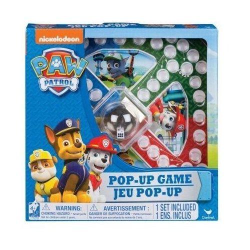 Psi patrol gra planszowa pop up chińczyk - darmowa dostawa od 199 zł!!! marki Spin master