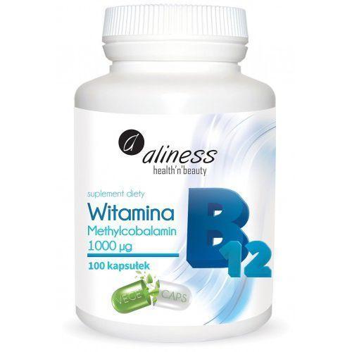 Witamina B12 Methylcobalamin 1000µg Aliness
