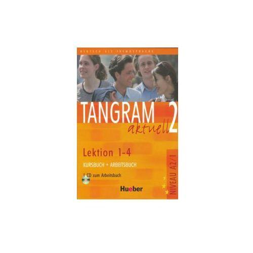 Tangram Aktuell 2, Kursbuch und Arbeitsbuch mit CD, lekcje 1-4, edycja niemiecka. (9783190018161)