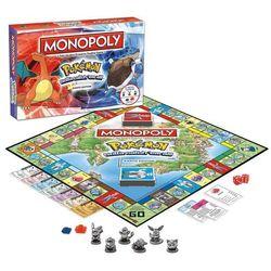 Winning moves Monopoly pokemon kanto edition