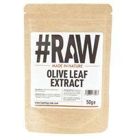RAW Olive Leaf Extract (Ekstrakt z liści oliwnych) - 50 g (5060370731473)