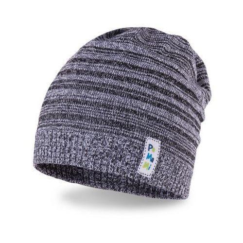 Wiosenna czapka chłopięca PaMaMi - Ciemnoszary - Ciemnoszary (5902934031707)
