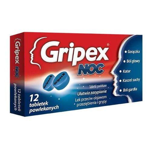 GRIPEX Noc x 12 tabletek