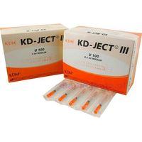 Strzykawka jedn. użytku 1ml insulinowa u100 (z igłą zintegrowaną 0,30x12,7mm) - 100szt. marki Kd medical (kdm)