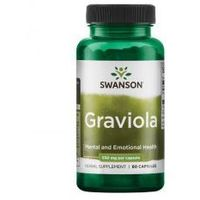 SWANSON Graviola 530mg, 60kaps.