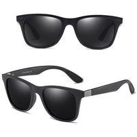Okulary polaryzacyjne męskie przeciwsłoneczne mat