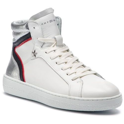 ff9ec5445a42a Sneakersy - mid iconic sneaker fw0fw03973 white 100 marki Tommy hilfiger