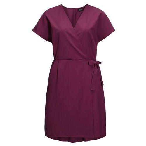 Sukienka victoria dress wild berry - s marki Jack wolfskin