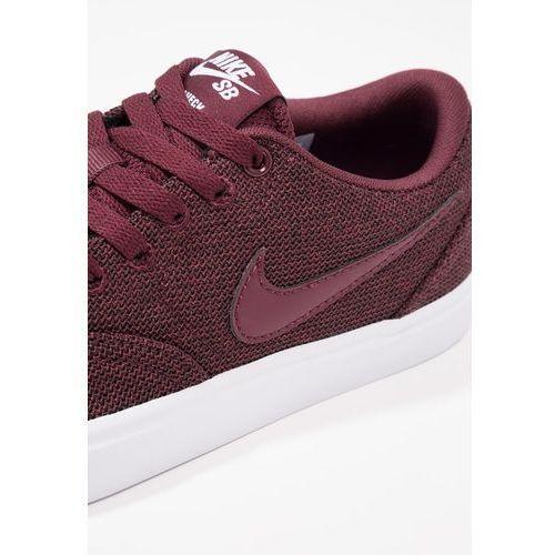 najniższa zniżka sprzedaż nowe style Nike SB CHECK SOLAR Tenisówki i Trampki night maroon/blanc