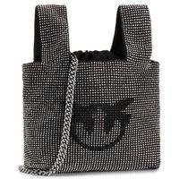Torebka PINKO - Gray Bag PE 20 PLTT 1P21NE Y66C Black Z99