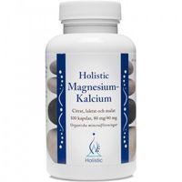 Kapsułki Holistic Magnesium-Kalcium magnez wapń 80mg/40mg 100 kaps.