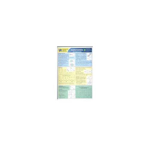 Podręczne tablice szkolne Matematyka 2 Planimetria Stereometria Trygonometria Analiza, oprawa miękka