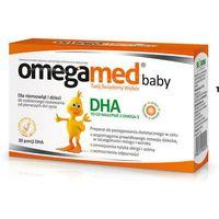 Kapsułki OMEGAMED BABY x 30 kapsułek twist-off + Vitaderol Baby K Gratis