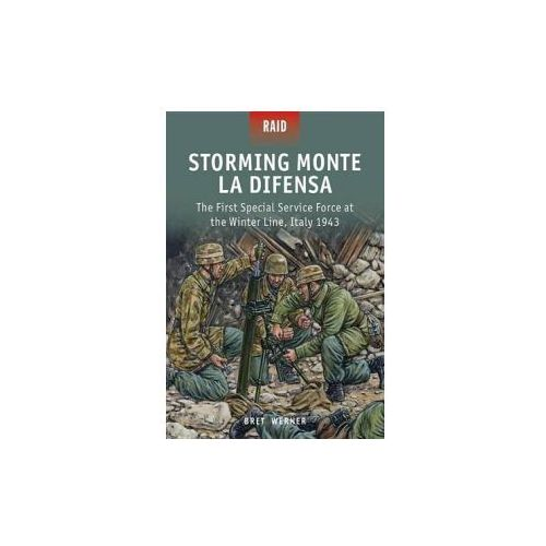 Storming Monte la Difensa - The First Special Service Force