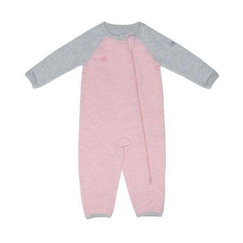 organic raglan pajacyk pink s marki Juddlies