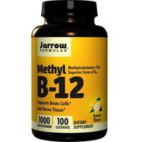 JARROW FORMULAS Methyl B-12 1000mcg 100 pastylek