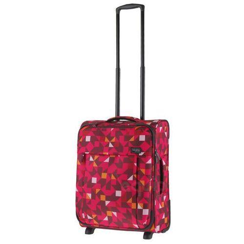 Travelite Walizka kabinowa campus quadro - różowy