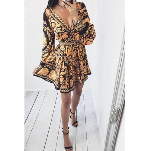 Sukienka DALLIA, kolor wielokolorowy