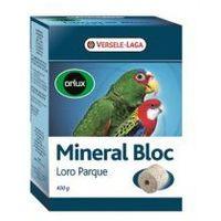 VERSELE-LAGA Mineral Bloc Loro Parque 250 g - Kostka Mineralna Dla Dużych I Średnich Papug - DARMOWA DOSTAWA OD 95 ZŁ!