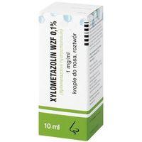 Krople XYLOMETAZOLIN 0,1% krople 10ml