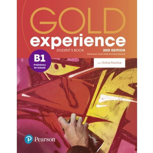 Gold Experience 2nd Edition B1. Podręcznik + Online Practice (9781292237305)